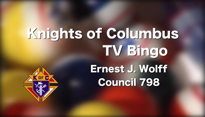 Knights of Columbus TV Bingo