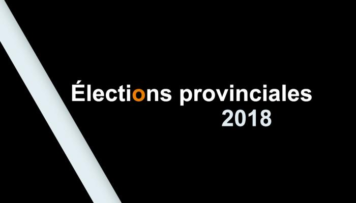 elections provinciales 2018